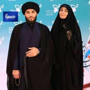 عکس ديده نشده از الهام چرخنده و همسرش