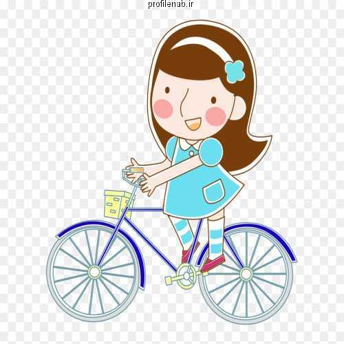 عکس پروفایل دوچرخه سواری دخترانه