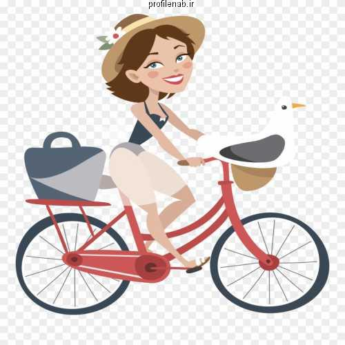 عکس دوچرخه سواری عاشقانه