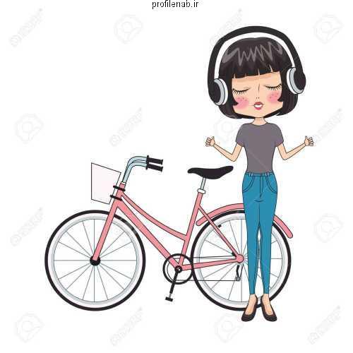 عکس دوچرخه برای پروفایل