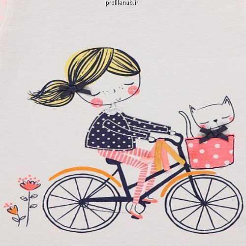 عکس پروفایل دوچرخه سواری
