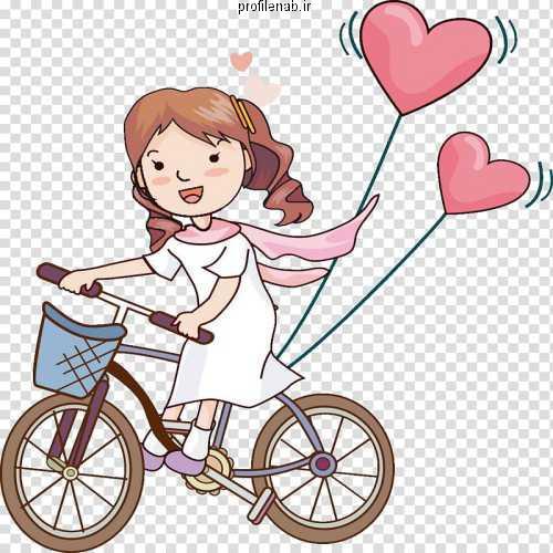 پروفایل عاشقانه دوچرخه سواری