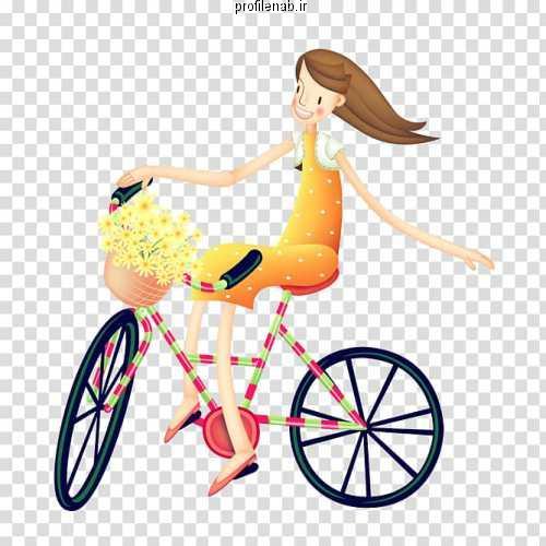 عکس پروفایل در مورد دوچرخه سواری