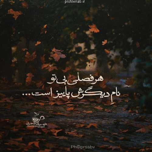 هر فصلی بی تو نام دیگرش پاییز است