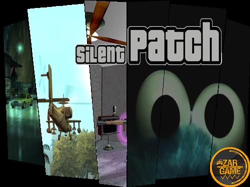 دانلود افزونه SilentPatch برای بازی (GTA 5 (San Andreas