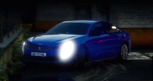 خودرو پژو 508 برای GTA V
