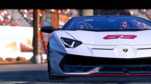 خودرو Lamborghini Aventador برای GTA V