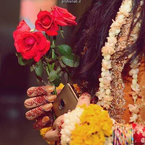 عکس های پروفایل گل و دختر