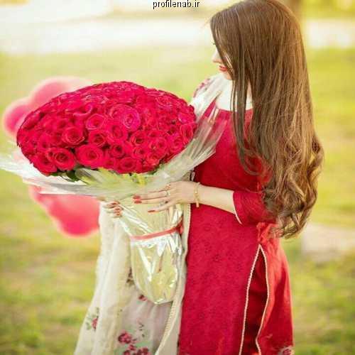 پروفایل دست و گل دخترانه