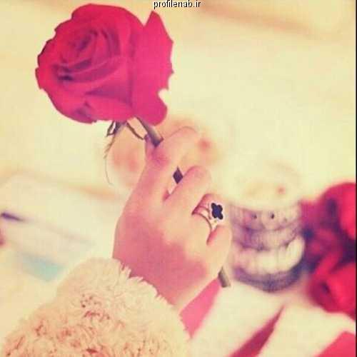 عکس گل و دختر برای پروفایل