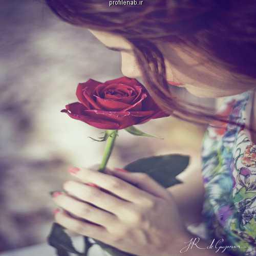 عکس گل و دختر فانتزی