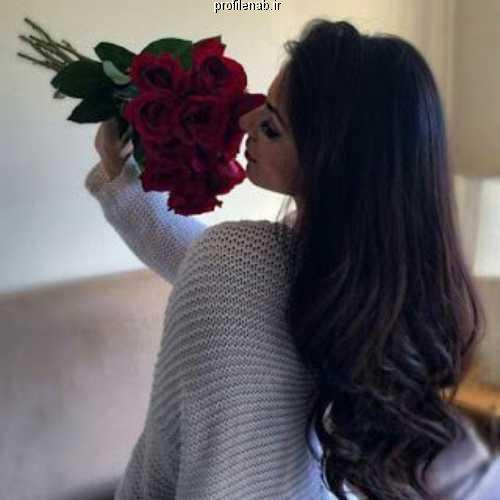عکس گل و دختر واسه پروفایل
