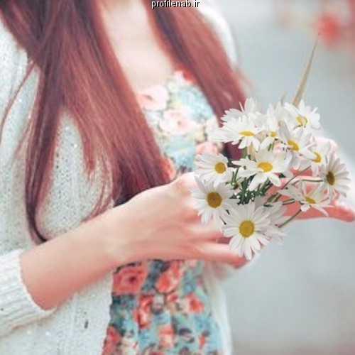 عکس پروفایل گل و دختر