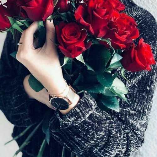 عکس گل و دخترونه