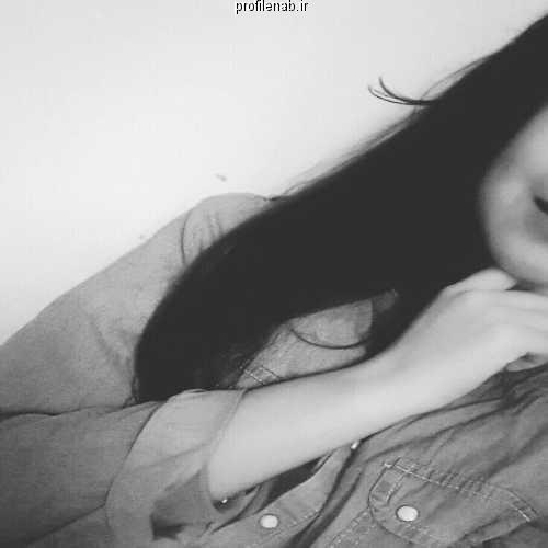 عکس سیاه و سفید دخترونه برای پروفایل