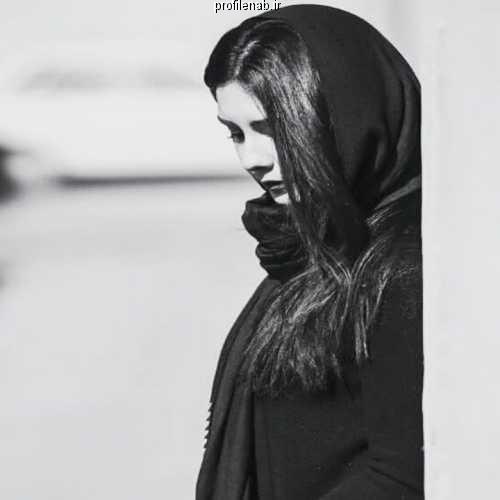 عکس پروفایل دخترونه سیاه و سفید فانتزی