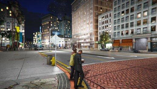 افزایش کیفیت چراغ های بازی GTA V