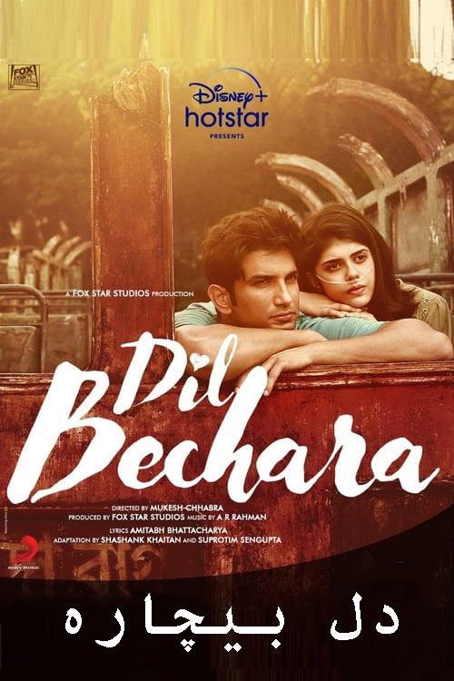 فیلم دل بیچاره دوبله فارسی Dil Bechara 2020