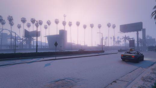 حالت برف برای GTA V