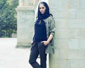 مارال بني آدم در کاخ سعدآباد