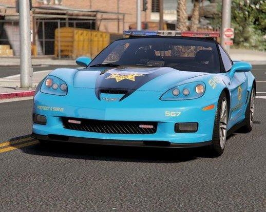 خودرو Chevrolet Corvette ZR1 برای GTA V