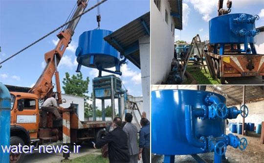 افزایش توان تصفیه خانه آب تولم شهر در صومعه سرا