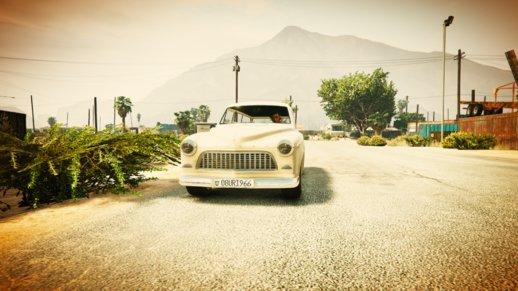 ترافیک ماشین های قدیمی در GTA V