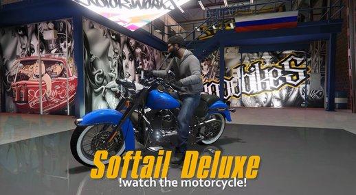 موتور Harley Davidson Softail Deluxe برای GTA V