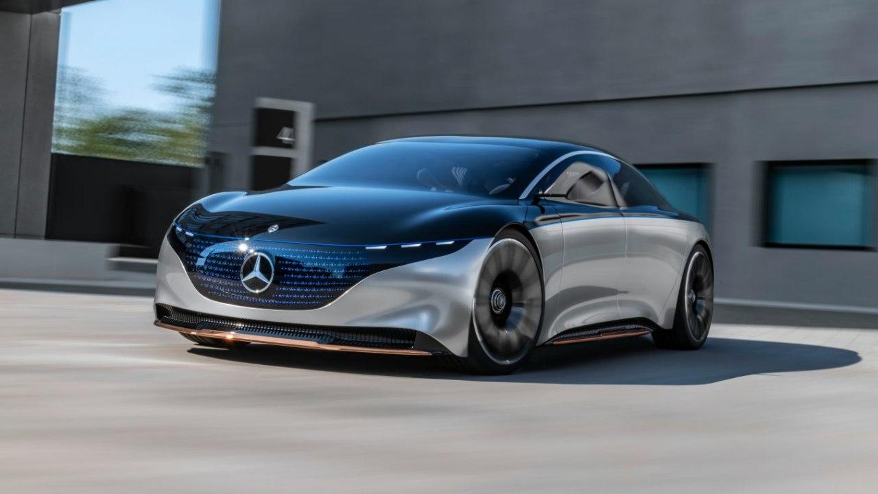 مرسدس 6 خودروی برقی جدید تولید میکند
