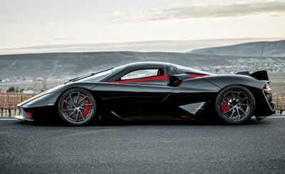 سريعترين خودروي جهان با سرعت 508 کيلومتر در ساعت