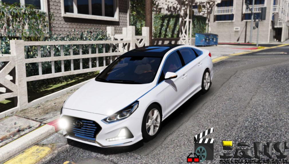 دانلود ماشین سونوتا 2018 برای GTA V