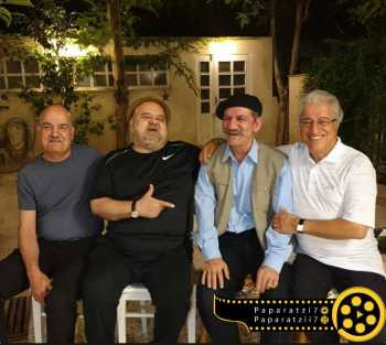 چهار کمدين سينما در يک عکس