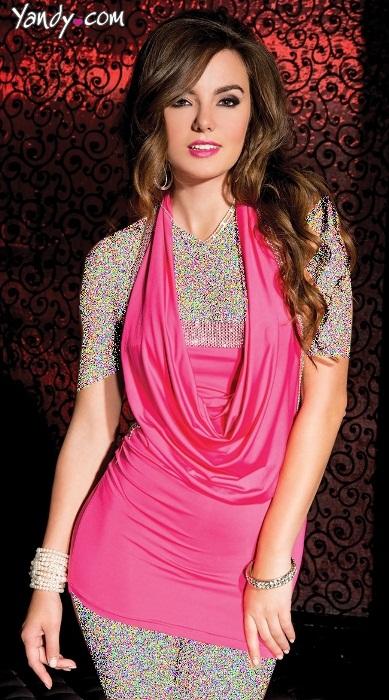 مدل لباس مجلسی کوتاه پولک زنانه ۲۰۱۵