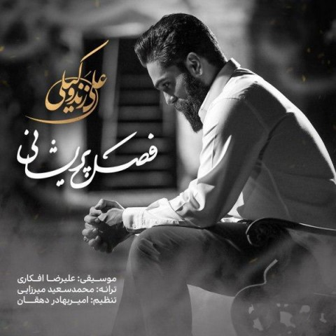 نسخه بیکلام آهنگ فصل پریشانی از علی زند وکیلی