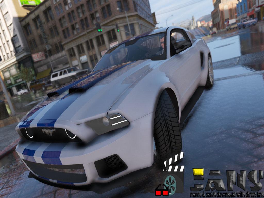 دانلود ماشین فورد موستانگ 2020 برای بازی gta v