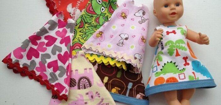 دوخت لباس عروسک و باربی در سایزهای مختلف و طرح های متنوع و زیبا