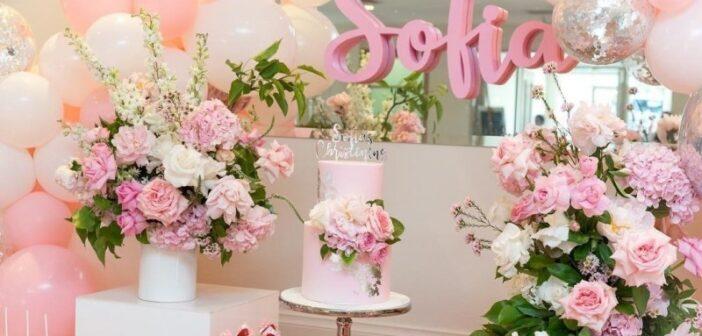 گل آرایی تولد و تزیینات زیبا و لاکچری با آموزش ساده