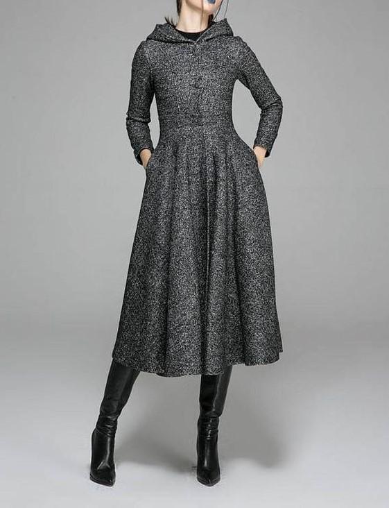 مدل مانتو پالتویی بلند
