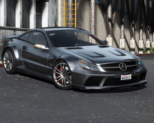 خودرو بنز SL65 2009 برای GTA V