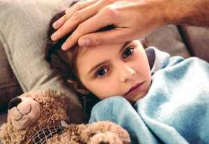 درمان آنفولانزاي کودکان در خانه