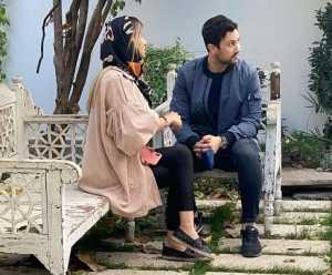 عکس شاهرخ استخري و همسرش در کنار هم