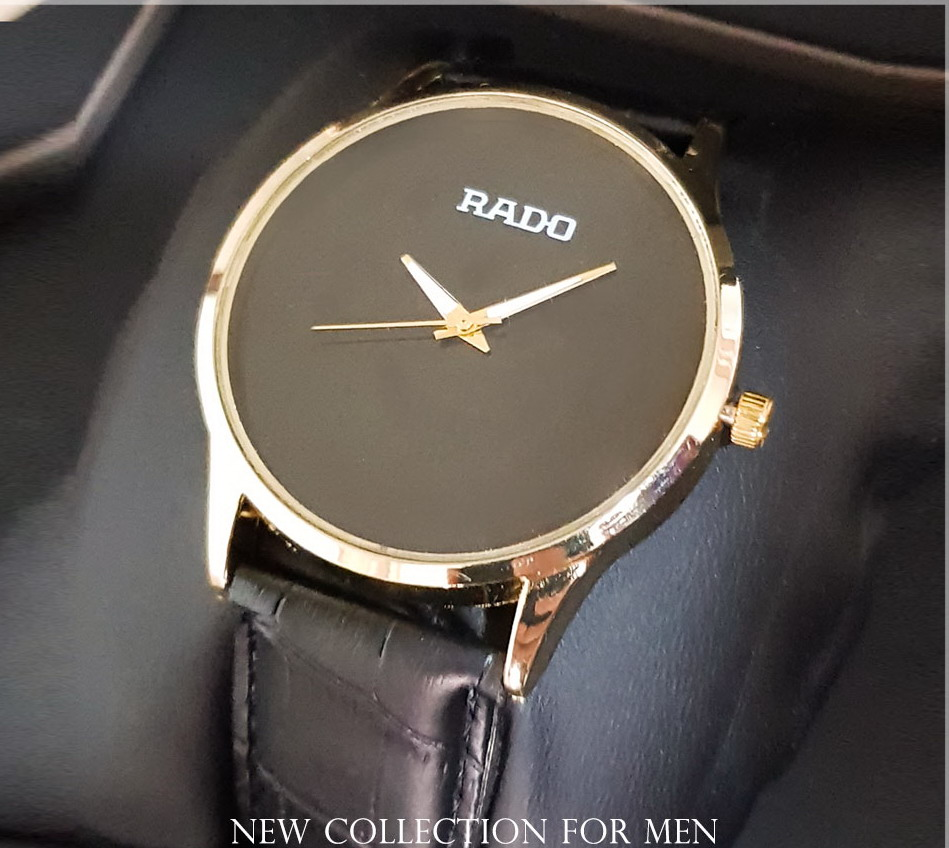 خرید ساعت مچی مردانه Rado رادو پهن مشکی