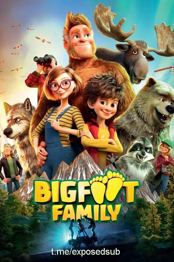دانلود انیمیشن Bigfoot Family 2020 با دوبله فارسی (خانواده پا گنده)
