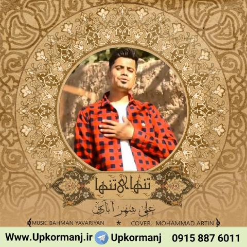دانلود آهنگ جدید علی شهرابادی به نام تنهای تنها