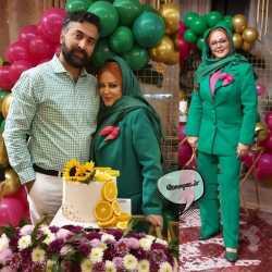 جشن تولد همسر بهاره رهنما بازيگر سينماي ايران