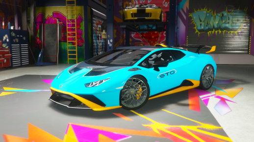 خودرو لامبورگینی هورکان 2021 برای GTA V