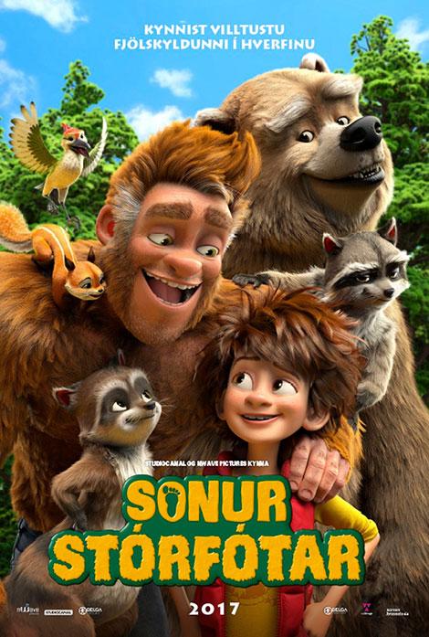 دانلود انیمیشن جدید Bigfoot Family 2020 خانواده پاگنده دوبله فارسی