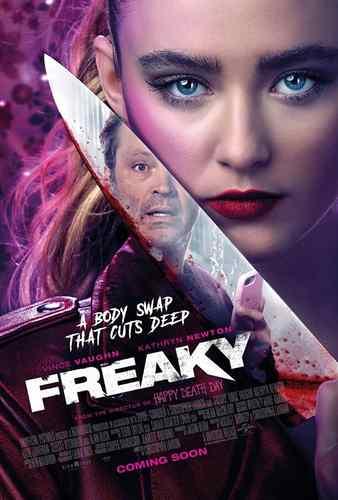 دانلود فیلم کمدی Freaky 2020 عجیب و غریب