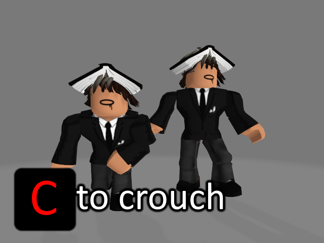 ساخت قالبلیت crouch/نشستن در roblox studio