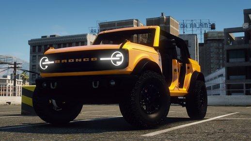 خودرو فورد Bronco 2021 برای GTA V